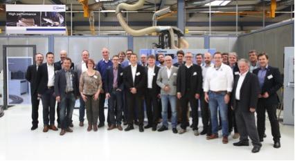 Reges Interesse hat die Netzwerkversammlung bei der HOMAG Group AG in Schopfloch gefunden. Im Mittelpunkt stand dabei erneut die Industrie 4.0