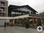 Heimat für zwei Tage und Stätte großer Geselligkeit: Das Hotel Post in St. Johann.