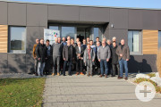 Das Netzwerk zu Besuch bei Gründungsmitglied Lignum Consulting in Kupferzell.